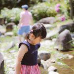 ○ 子供と川遊び